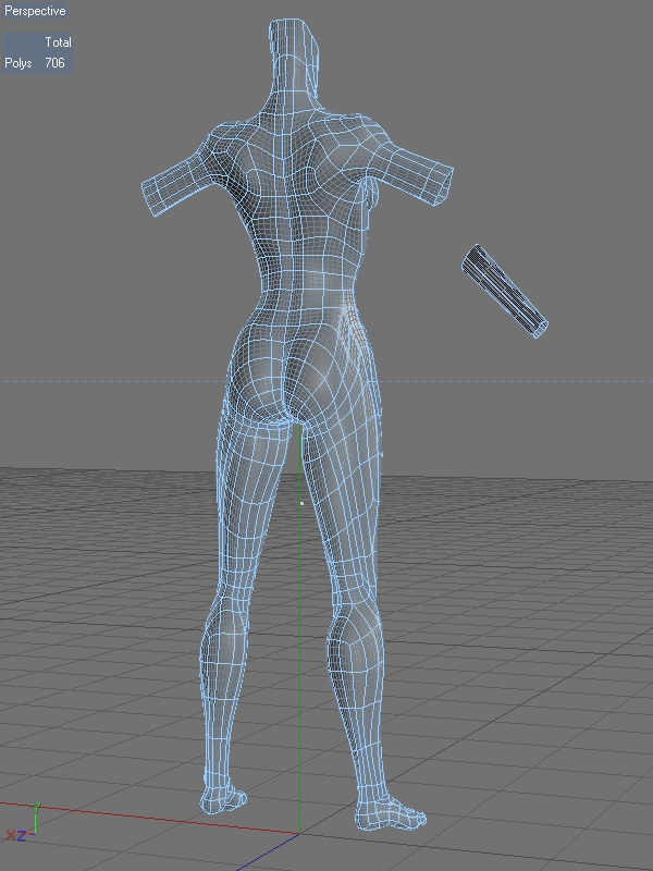 Animation Friendly Character Topology
