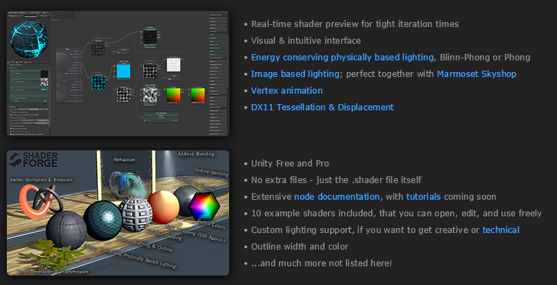 Shader Forge: A Review on Renderosity com