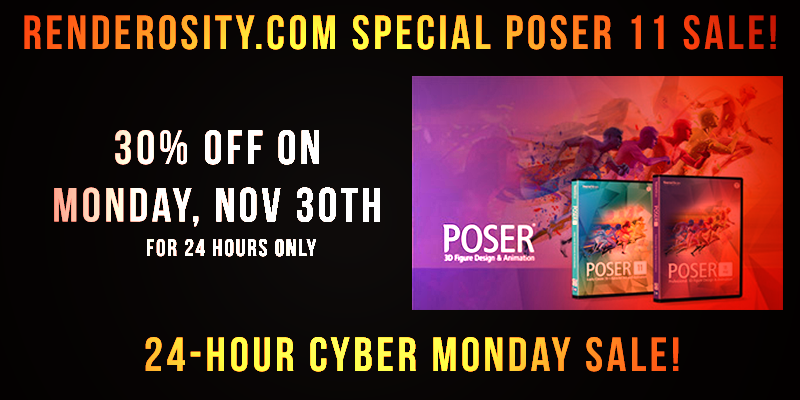 Poser 11 Sale Splash