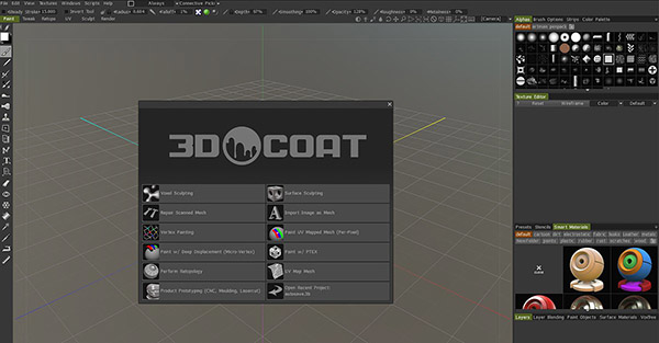 3dcoat splash