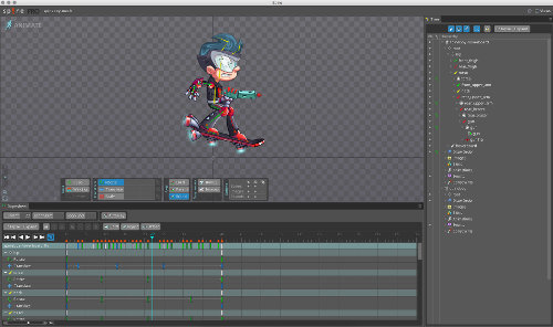 Review: Spine, a 2D Animation Program - Renderosity Magazine