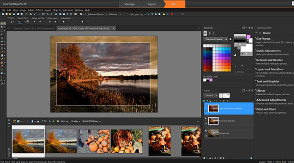 corel paintshop pro x9 user guide